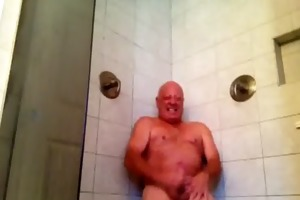 enjoying my shower part 2