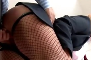 schoolgirl cocksucking and doggy style
