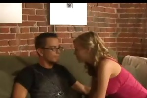 cute petite blond bonks her allies brother
