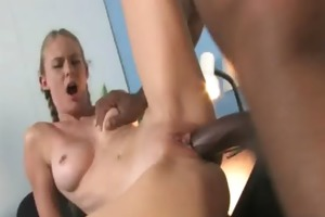 youthful daughter with admirable butt drilled by