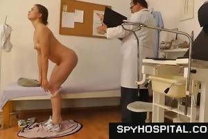 spy livecam set-up in gyno check-up room