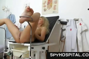 a hidden web camera trap in a gyno clinic