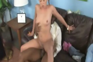 watching my dark ally fucking my young daughter 10