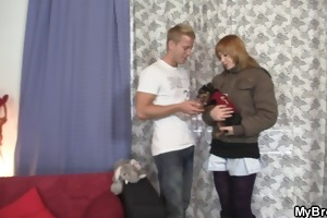 doxy cheating her bf with his younger brother