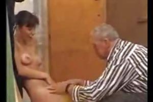 grandpapa and lisa by snahbrandy