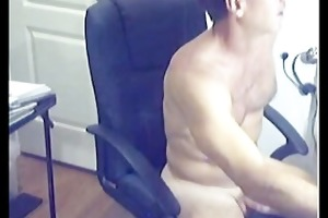 ripped sexy hairy daddy discharges loan