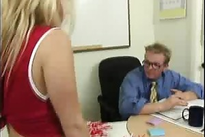 ravishing blond gal does alot of penis engulfing