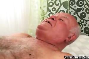 grandpapa likes ball cream pie #03