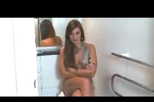 brit large sister joi in the bath