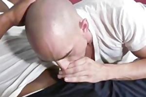 white stud worships large darksome wang