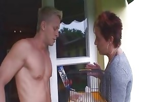youthful ginormous jock desires old hags cookie