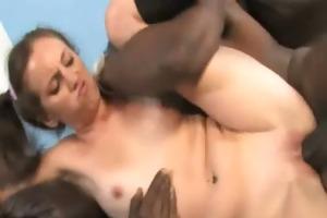 dark cock and a diminutive sweetheart 15