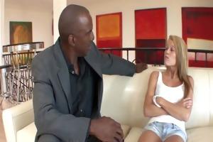 punishing his step daughter for smokin