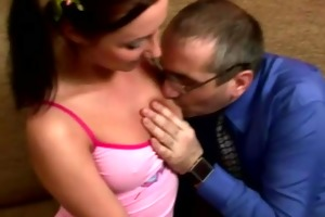 russian student angel receives screwed by tricky