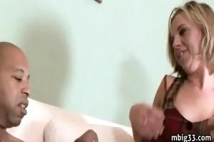 youthful daughter vs darksome monster penis