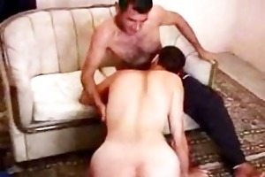 darksome shaggy aged turkish kiss rim riding cock