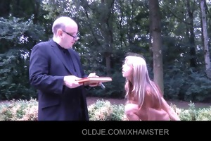 juvenile gina pays the old debt collector with