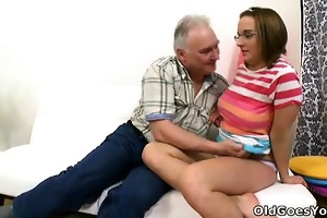 amy gives herself to this old guy, might ask why,