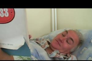 older man is screwed by hawt nurse
