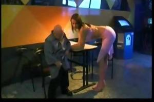 midget oldman fucking hawt blond