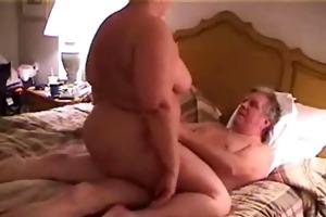 big beautiful woman rides oldman 3