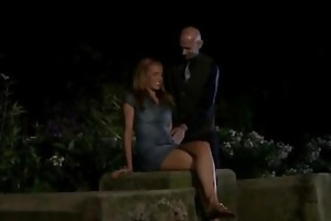 hung stranger does concupiscent young wife