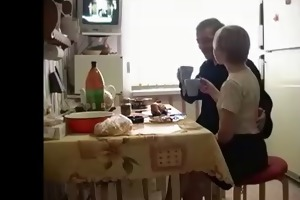 russian homemade - stepdaughter and not her