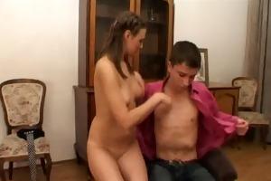 fellow copulates his girlfriend
