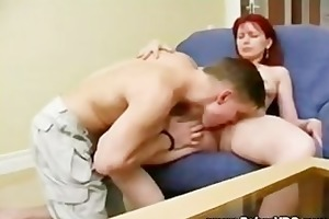 threesome mother nd son time