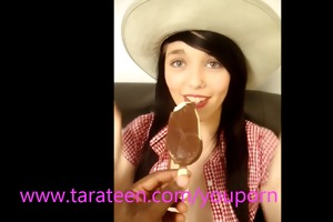 tara legal age teenager chokes on large ice lolly