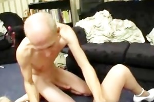 old papy fucking young tattooed wife part5