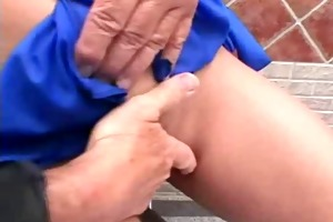 juvenile doxy makes older man feel greater