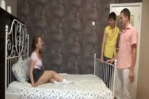 trio legal age teenager gals can not not imagine