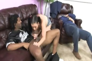 hard pounding in wicked aromatic young hoe