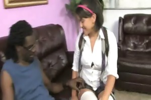 darksome wang and a petite chick 9